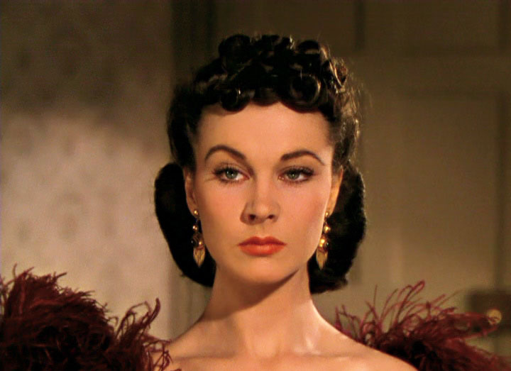 Vivien Leigh from the trailer for the film Gone with the Wind