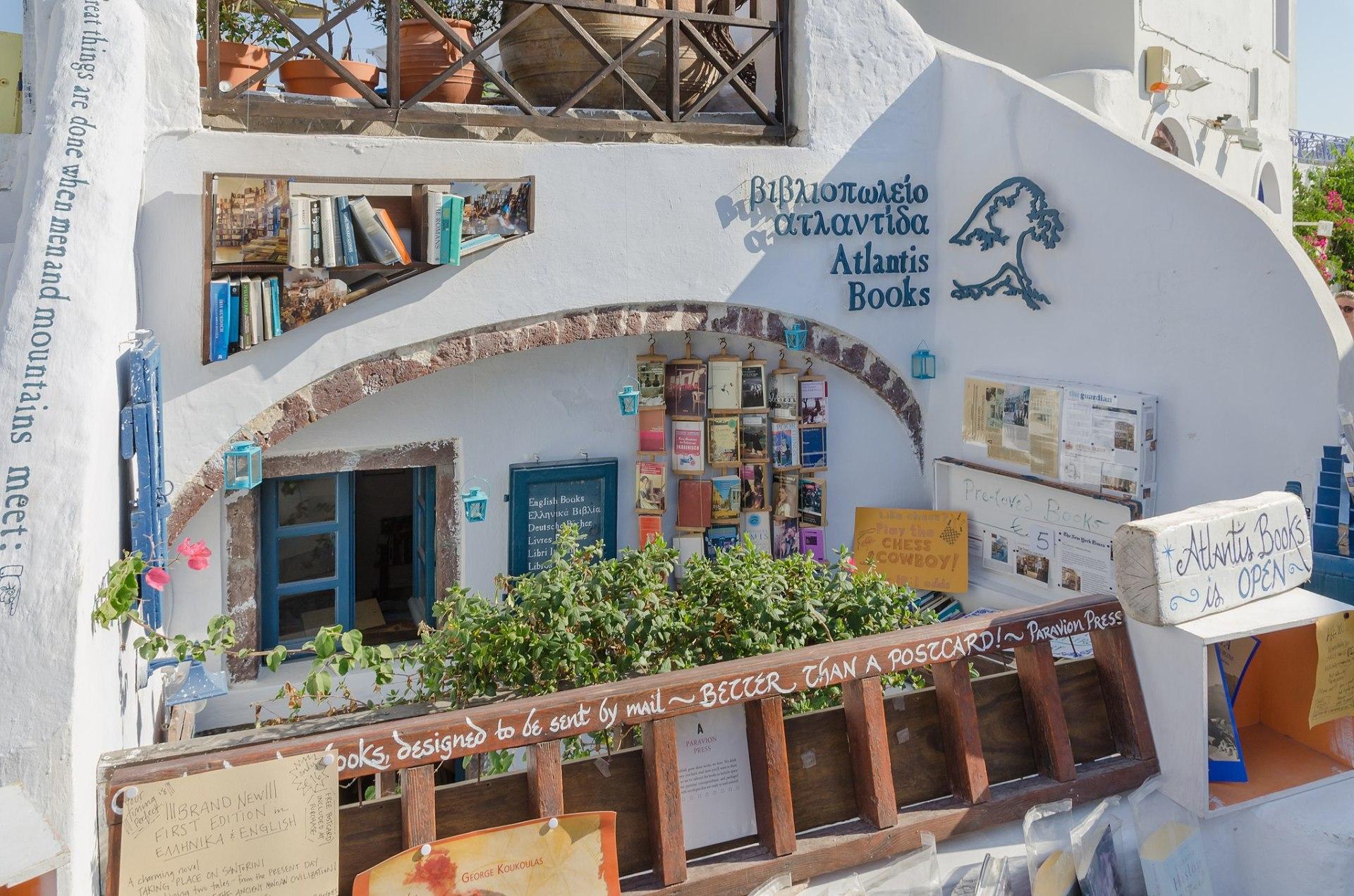 Atlantis Books, Santorini