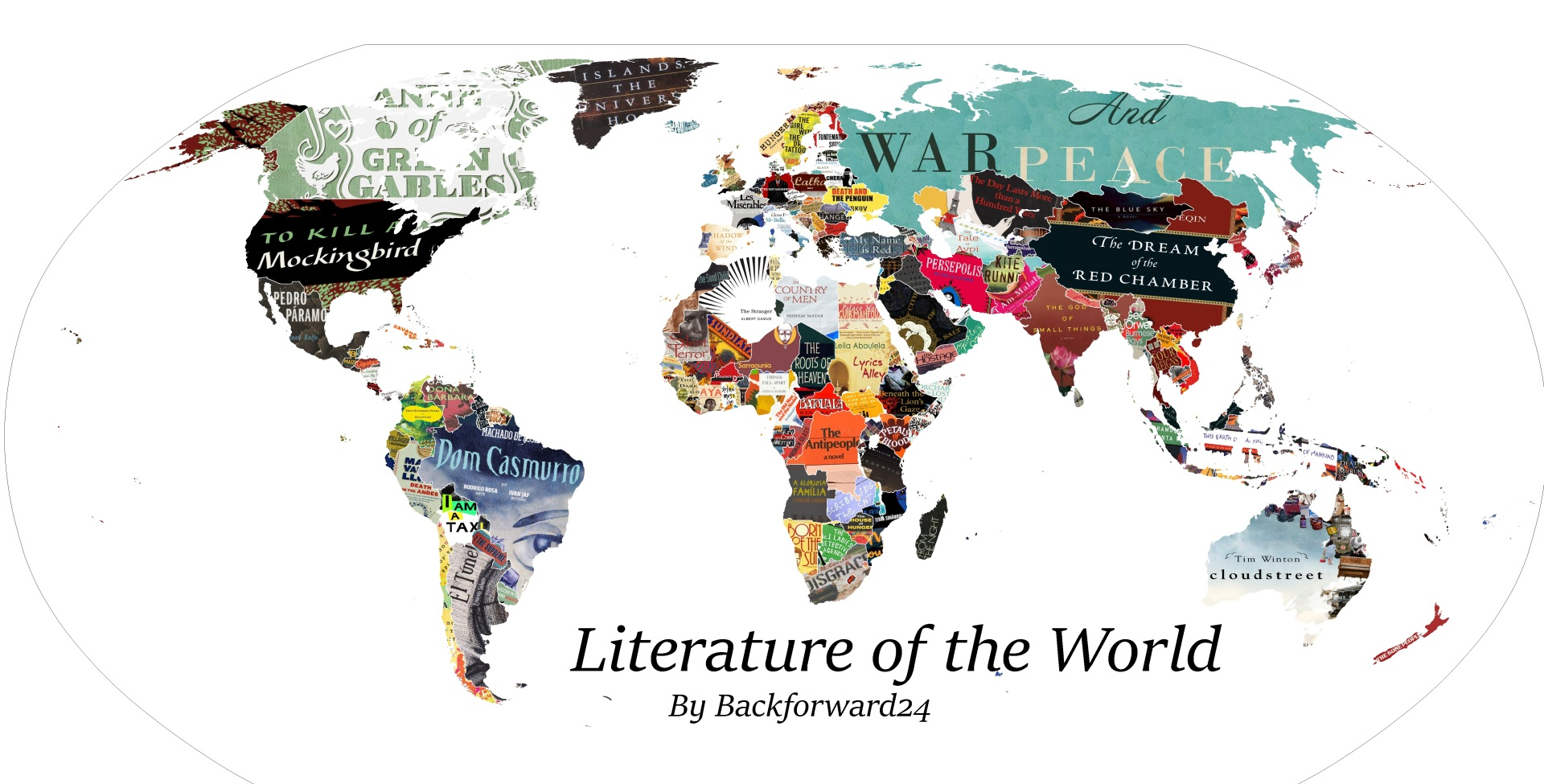 Literature Map of the World