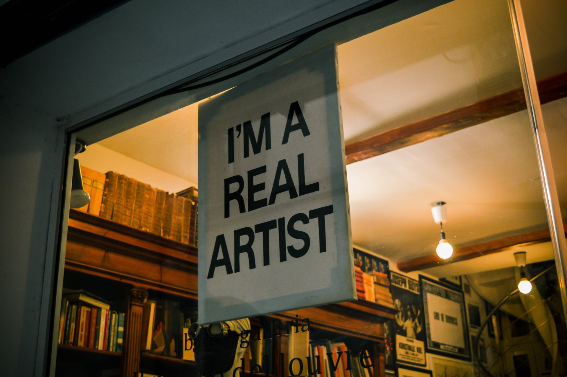 I am a real artist