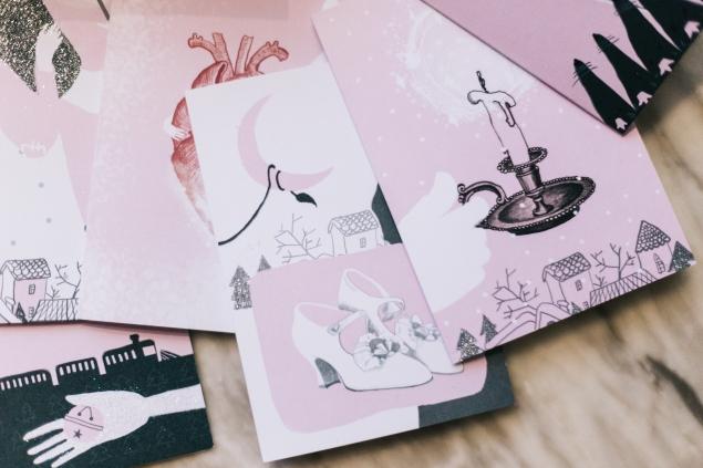 Набор новогодних открыток от booked-online.com